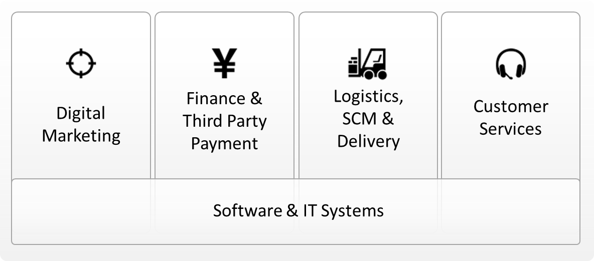 eCommerce Service Providers Overview in China